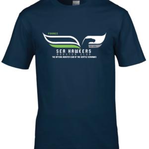 T-shirt Bleu SeaHawkers