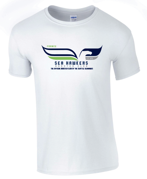 T-shirt blanc Seahawkers France